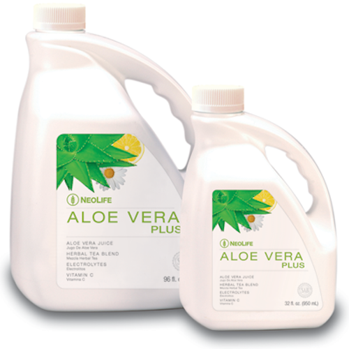 Aloe Vera Plus no GMOs Family Size 96 oz #3001