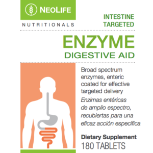 Enzyme Digestive Aid 180 tabs #3520
