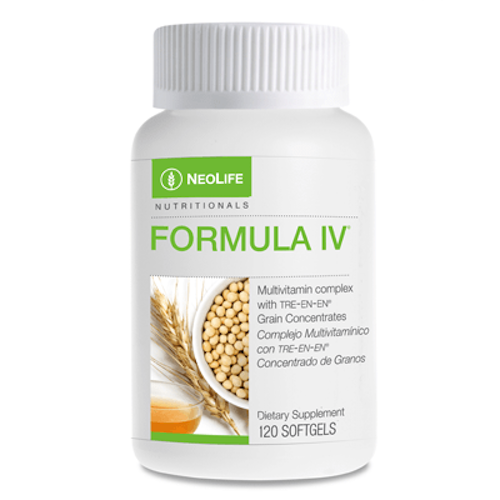 Formula IV multivitamin because there's more to nutrition