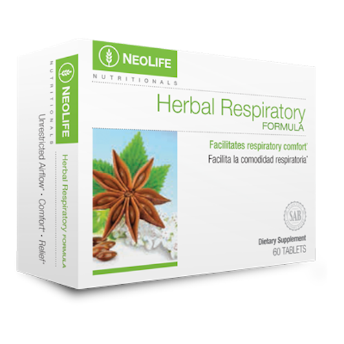 Herbal Respiratory 60 tabs #3655