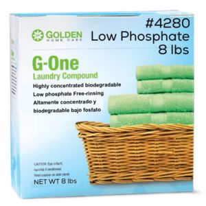 G-One Laundry Compound 8 lbs 100% biodegradable #4280