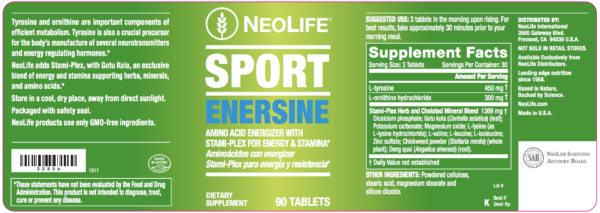 Sport Enersine replaced by Sport Endurance and Sport Bio-Tone-1373