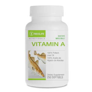 Vitamin A 10,000 IU Water Miscible faster more efficient absorption 250 caps No GMOs #3310
