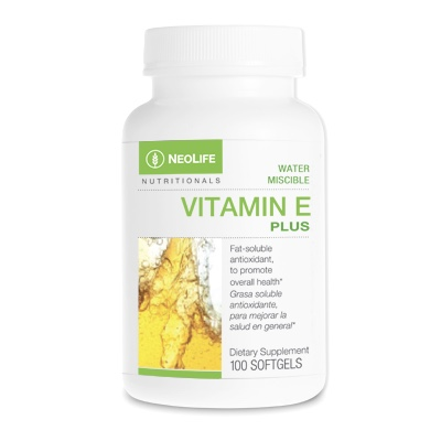 Vitamin E Plus (8 forms) Water Miscible faster more efficient absorption & digestion 200 caps 275 IU No GMOs #3341