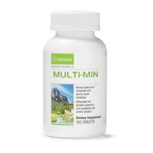 Multi-Min with Chelates GMO-free 150 tabs #3410-0