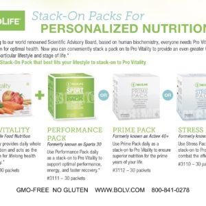 NeoLife Vitality Packs
