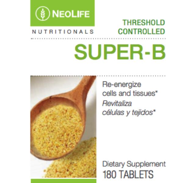 Super B Complex Threshold Control 180 tabs #3321