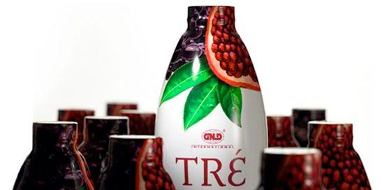 tre bottles