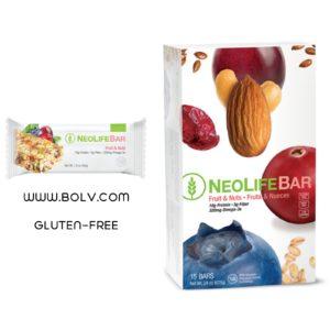NeoLifeBar Fruit & Nuts Satisfy Hunger