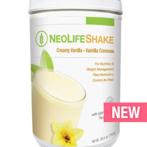 NeoLifeShake-Creamy Vanilla no GMOs 15 servings #3804