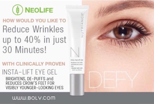 Organic Insta-Lift Eye Gel