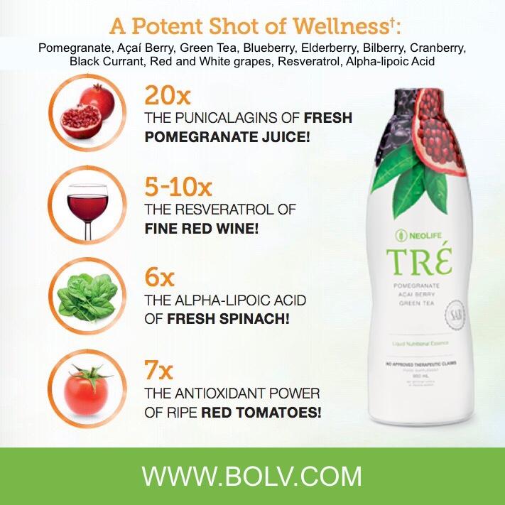 Tré Nutritional Essence Super Fruits 32 oz non-GMO.